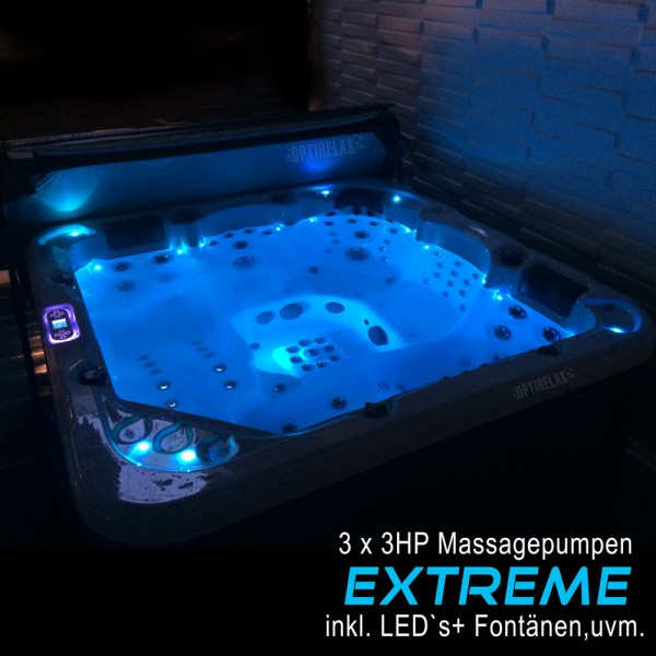 Whirlpool Optirelax VIII Extreme mit optionalen LED Sonderausstattungen