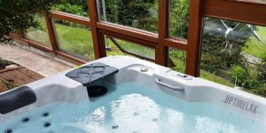 Whirlpool im Wintergarten - OPTIRELAX® Blog