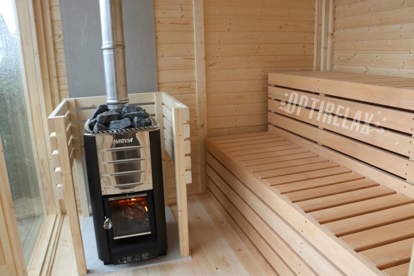 Gartensauna Optirelax PIAZZA 3