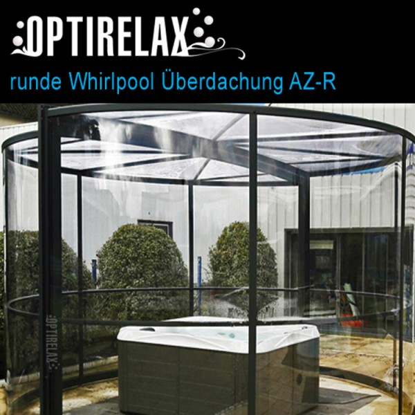 Outdoor whirlpool mit dach optirelax blog - Whirlpool pavillon ...