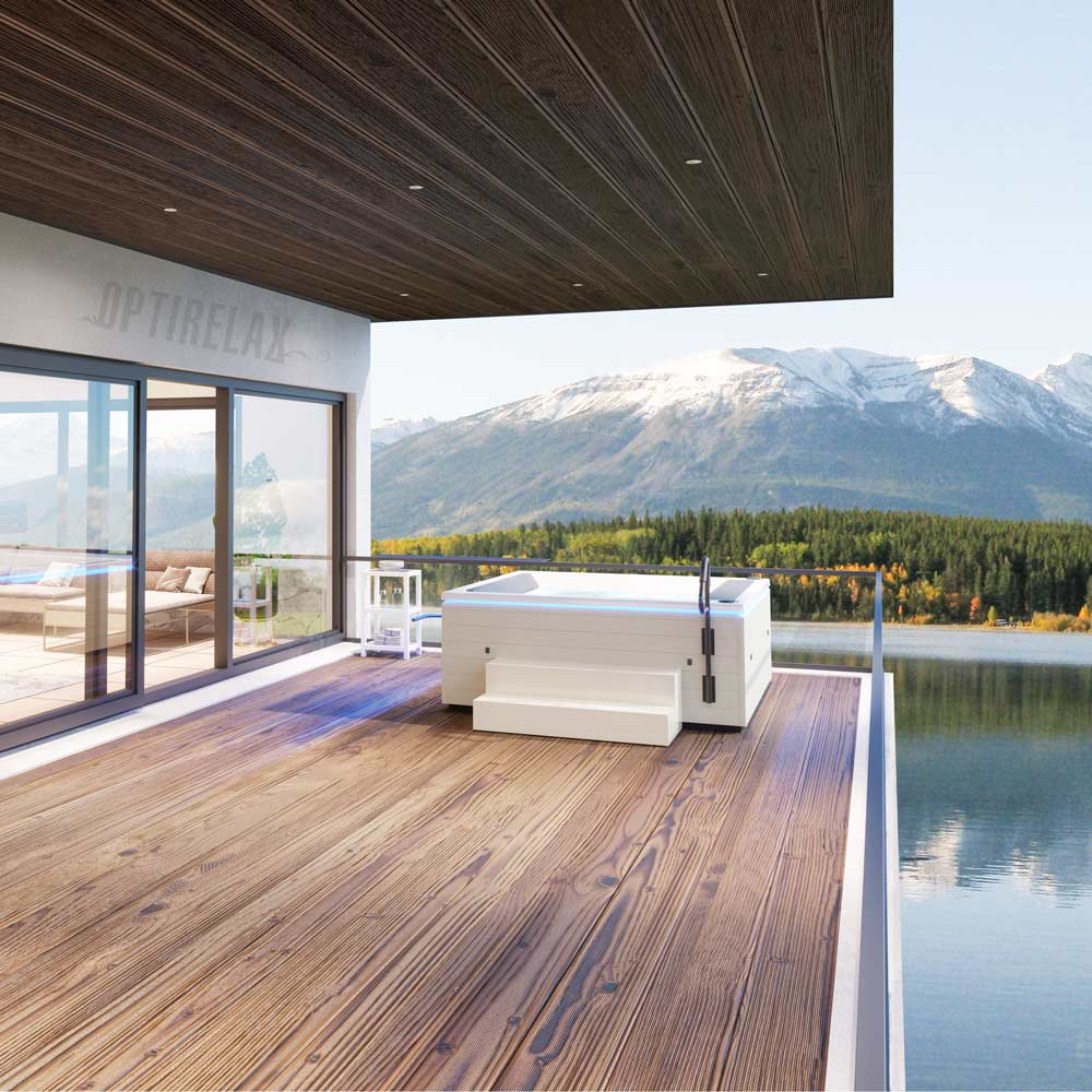 Luxus Design Whirlpool Outdoor - OPTIRELAX Deisgn Line Spa M