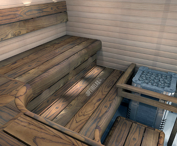 Luxus Sauna HOTRELAX L