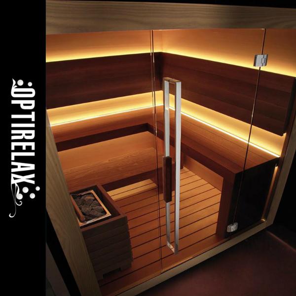 Premium-Sauna OPX-CM Dream M fuer die Familie
