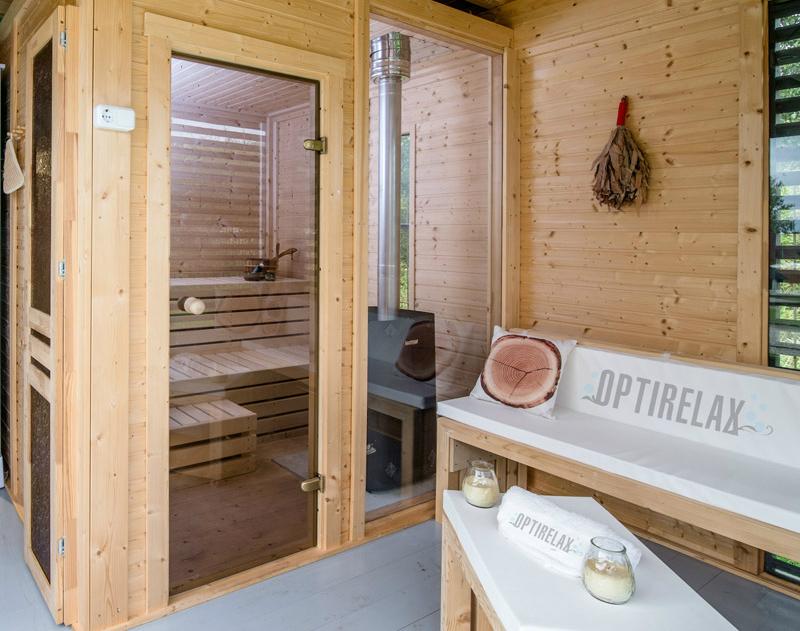 Sauna Garten Haus Hot-H430