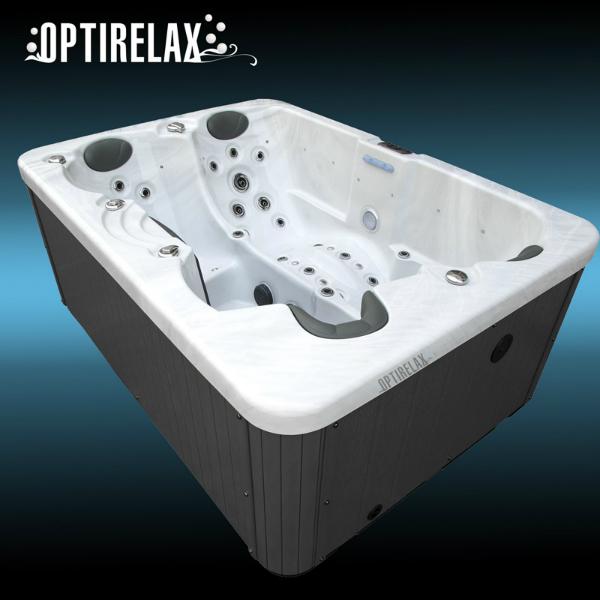 Spapool Optirelax Dreamy mit doppelt isoliertem GFK Unterboden