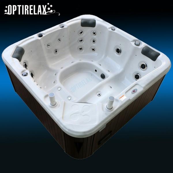 Whirlpool Optirelax Clever I fuer unsere Klimazone optimiert isoliert 2x2 Meter