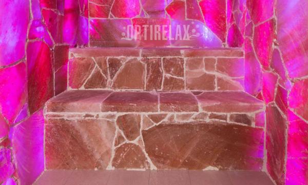 Salz Sauna - Himalaja LED